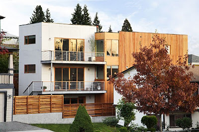 exotic+wood+home+in+seattle, Home Designing