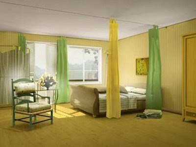 modern bedroom furniture curtain sets