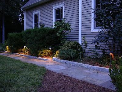 sidewalk lights