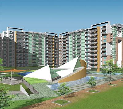 bangalore apartment view