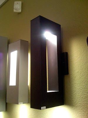 modern exterior light