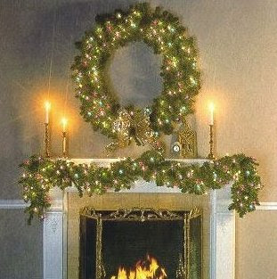 christmas-home-decorating-joy-to-the-world-pre-lit-garland