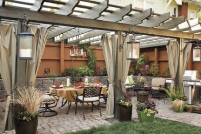 landscape patio design