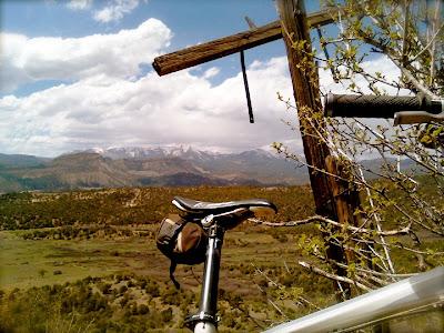 Postcards from Durango; Telegraph Hill