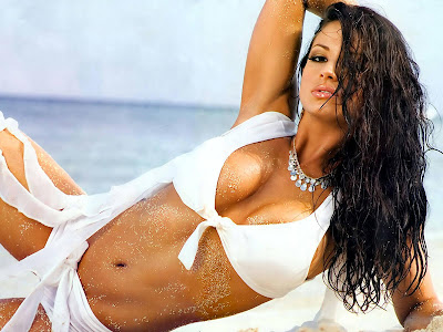 WWE WRESTLER-MODEL CANDICE MICHELLE