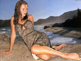 English Fashion Model Kate Moss Wallpapers 1024 * 768