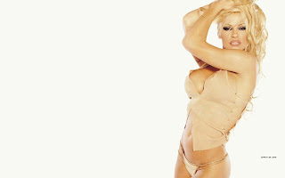 Sex Bomb Pamela Anderson Hot Wallpaper