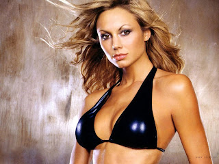 Stacy Keibler Black Bikini Photo Shoot Picture