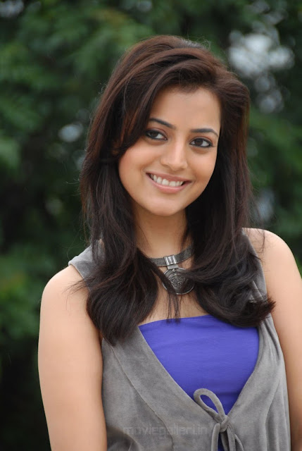 Kajal's Sister: Nisha Agarwal Blue Dress Photoshoot
