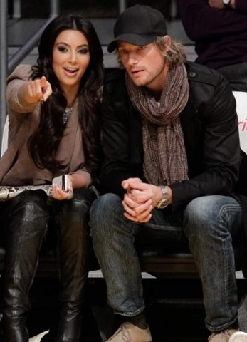 Kim Kardashian and Gabriel Aubry Pictures Together