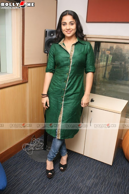 Vidya Balan Promote No One Killed Jessica at Radiocity