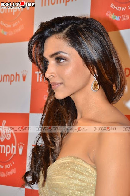 Deepika Padukone Attends Triumph Lingerie Show 2011