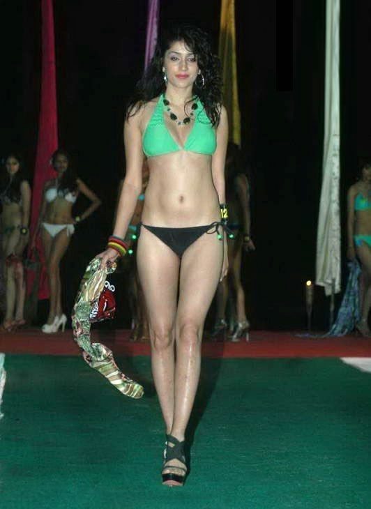 Hot Bikini Indian Model