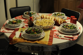Our first ever dinner party: