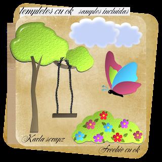 FREEBIE TEMPLATE AL AIRE LIBRE from karla scrapz Samples+templetes+al+aire+libre