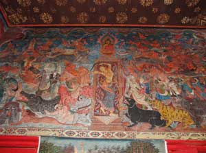 Wat Pratu San paintings