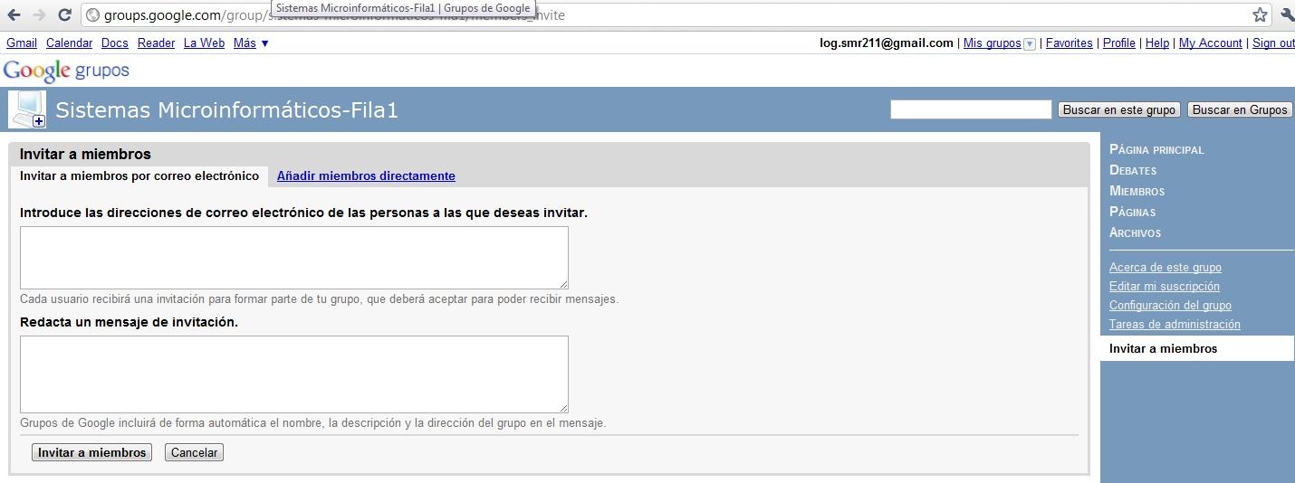 Enviar un correo electrnico desde Gmail Bsico y Fcil