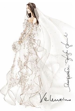 Designer Wedding Dress Sketches » Buffalo Indie Weddings ...