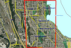 Rainier Beach Map