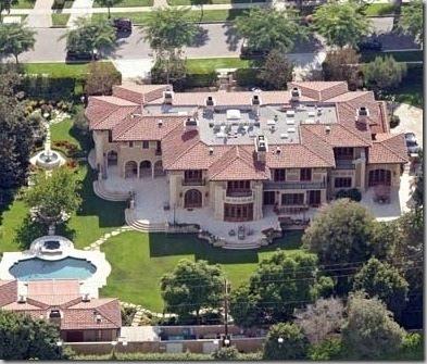 Marc Anthony and Jennifer Lopez House