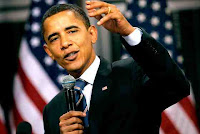 Barack Obama, the  President of USA