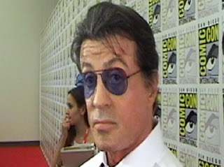 "Comic Con 2010 Cala Boca Sylvester Stallone-Sylvester Stallone target of Twitter attack for ""The Expendables"""