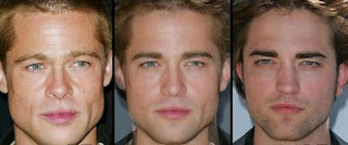 Brad Pitt dan Robert Pattinson