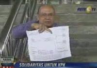 Borgol Diri di Kantor KPK Memprotes Keputusan PN Jaksel