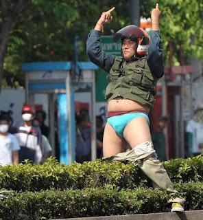foto eksklusif bentrok thailand