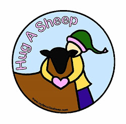 OCTOBER 27th IS NATIONAL HUG A SHEEP DAY!