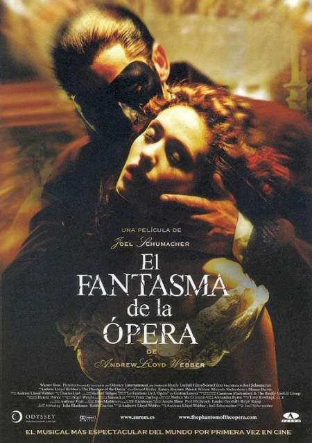 El Fantasma De La Ópera de Andrew Lloyd Webber (2004)