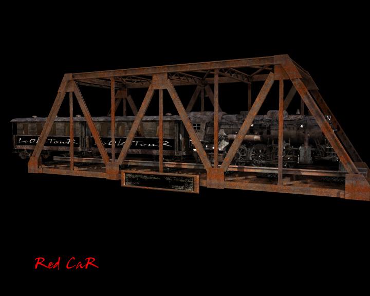 treno e ponte