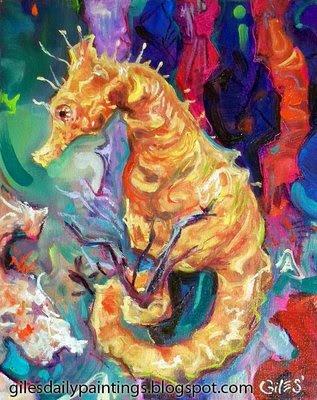 caballo de mar. (Seahorse-caballo de mar)