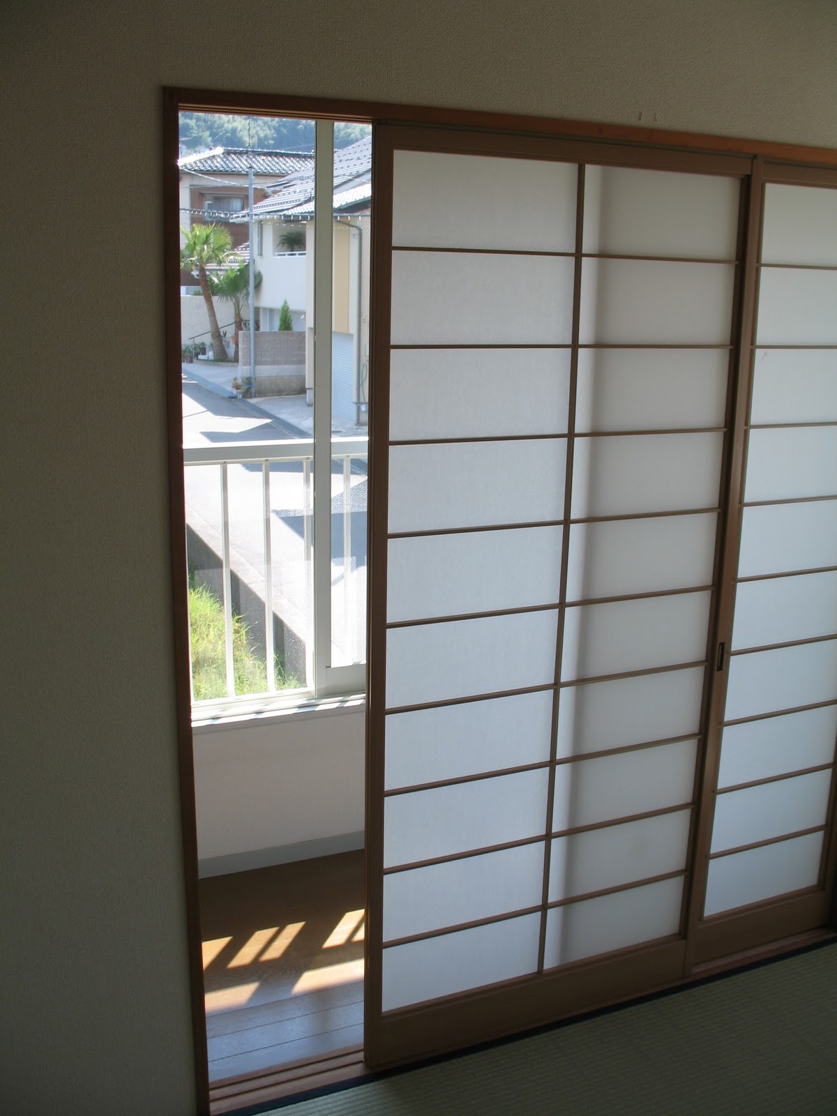 You can imagine how long the paper was pristine in our apartment given that we\u0027ve never had to be careful around paper doors before. & The New Normal: Shoji Door Re-Papering
