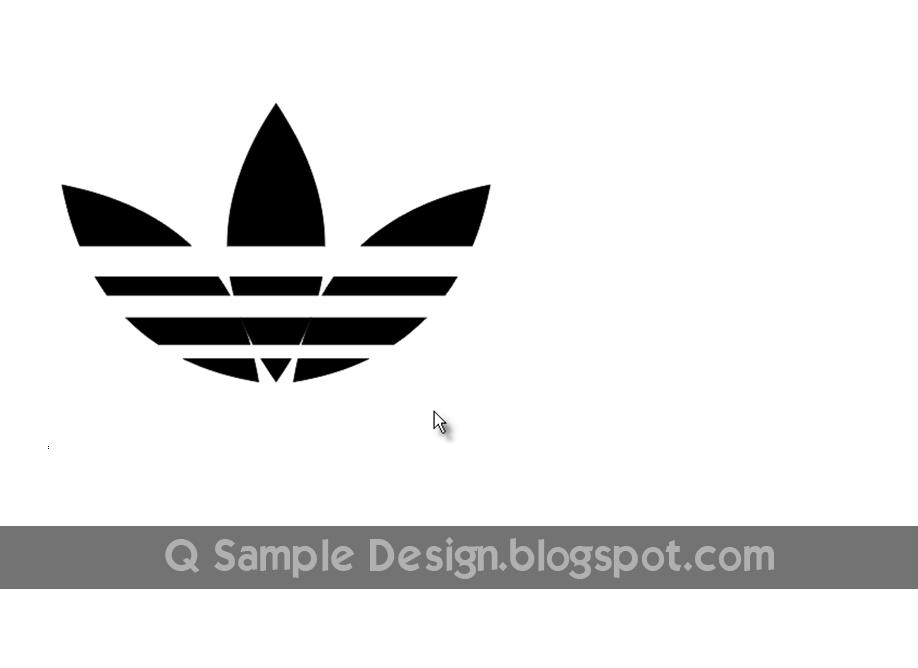 Membuat Logo Adidas dengan CorelDRAW - Album Kolase
