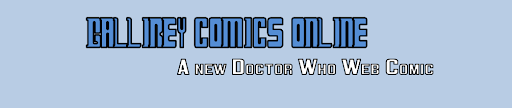 Gallifrey Comics Online - A New Doctor Who Web Comic