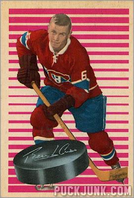 1963-64 Parkhurst #83 – Ralph Backstrom