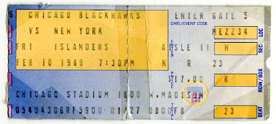 20-year old ticket stub