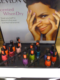 Revlon Scented Polishes display