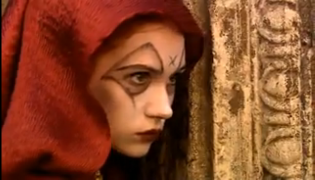 Karen Gillan in The Fires of Pompeii