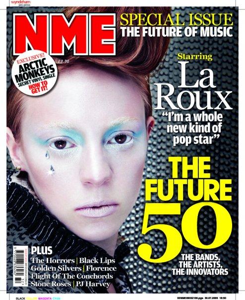 la Roux NME cover