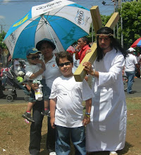 VIERNES  SANTO, VIACRUCES DE LA SANGRE DE CRISTO, MANAGUA, NICARAGUA, 2010