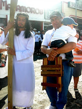 VIACRUCIS  DE LA SANGRE DE CRISTO, VIERNES SANTO , MANAGUA, NICARAGUA 2010