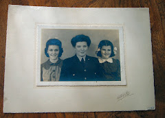 Eileen (centre) with Sisters