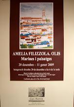 Cartel exposición Individual 2008-09