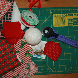 Quilted Ornaments Pattern - Quilted Ornament Kits