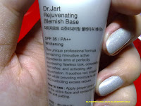 Dr. Jart Rejuvenating Blemish Base Silver Label description