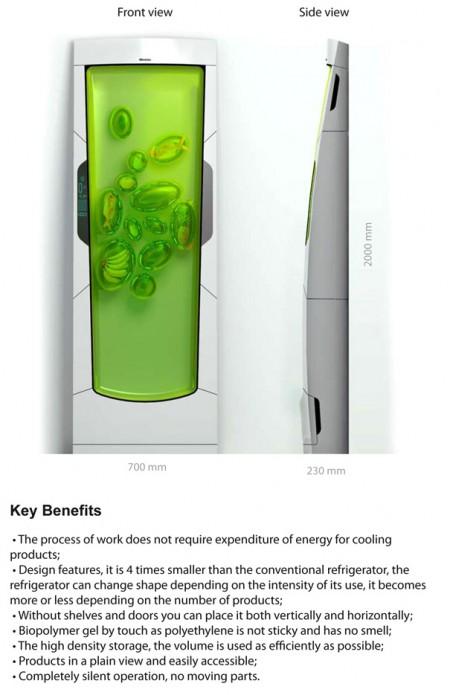 A minha alegre casinha frigor fico do futuro for Bio robot fridge cost