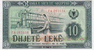 Albanian Lek History | RM.