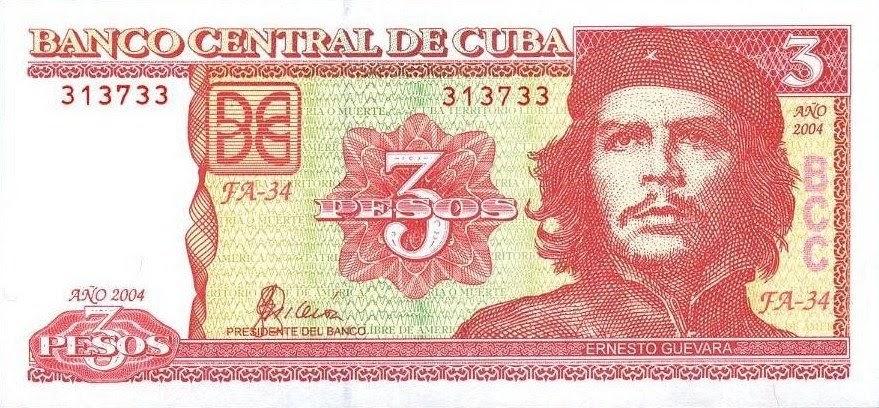cuba 3 pesos cuba